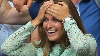 Andy Murray's girlfriend Kim Sears  caught secret poster-Andy has  new coach