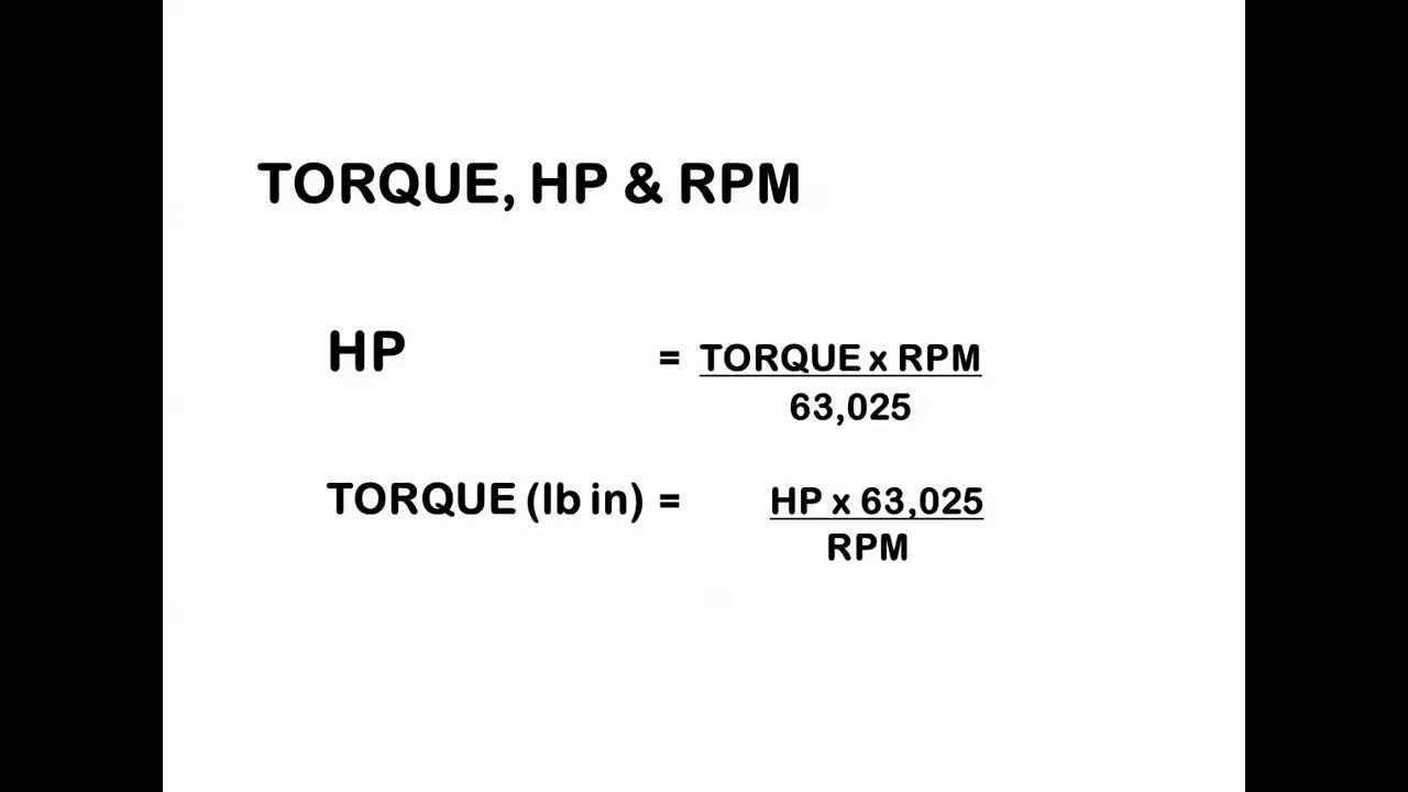 fz8 horsepower and torque relationship