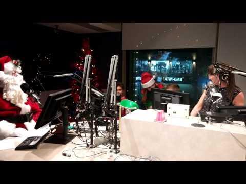 Charlie and Santa on CFRA Radio