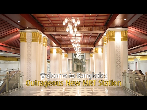Welcome to Bangkok's Outrageous New MRT