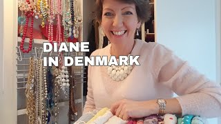 20 minute necklace/scarf declutter (DYT Type 1/4) plus a chat! (Flylady Zone 4, master bedroom)