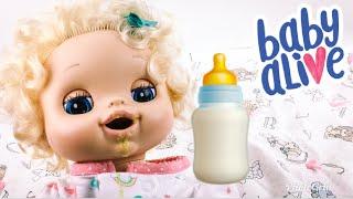 Video My Baby Alive Doll Eats Fan Food! download MP3, 3GP, MP4, WEBM, AVI, FLV Agustus 2018
