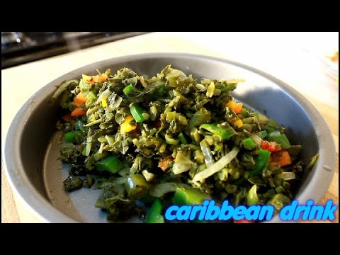 Jamaican Fry Up Callaloo Recipe Jamaican Fryup Callaloo Recipe