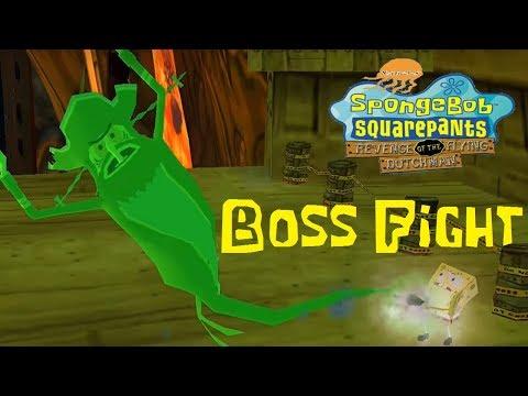 SpongeBob Revenge of the Flying Dutchman - Boss Fight (720p)
