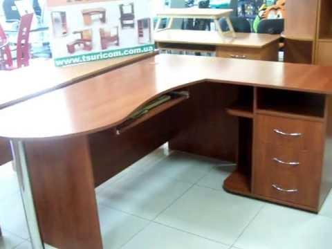 Оригинальный угловой компьютерный стол