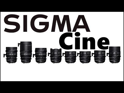 Objetivos de cine SIGMA  Salón del cine Barcelona