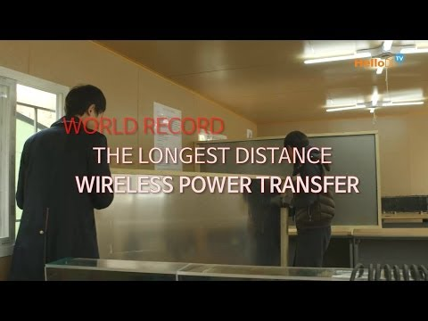 KAIST - Wireless Power Transfer (World Record The Longest Distance) ENG ver.