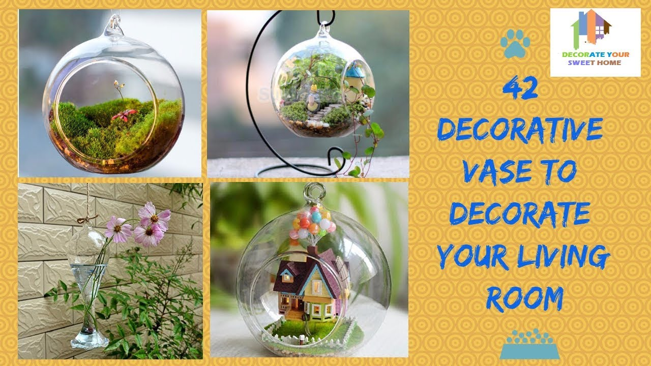 42 Decorative Vase to Decorate Your Living Room - YouTube