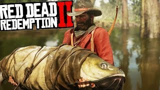 BIGGEST BEASTS In GAME - Skinning All Animals in Red Dead Redemption 2 - Gameplay