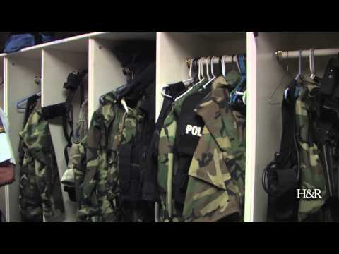 Decatur Police Station tour