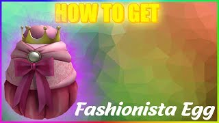 [EVENT] HOW TO GET Fashionista Egg, The Fierce | Design it! | Roblox Egg Hunt 2019