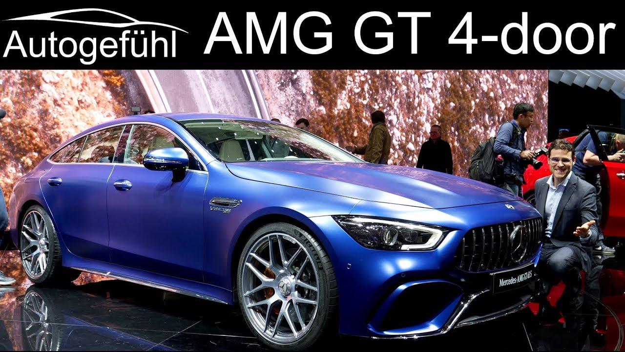 Mercedes AMG GT 4-door Coupé REVIEW 63S vs 53 4-Türer - Autogefühl - Dauer: 20 Minuten