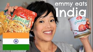 Emmy Eats India - an American tasting Indian treats