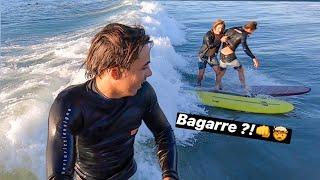 ON DÉBALLE NOS NOUVEAUX MOUSSUS ET ON RIDE 🤩🤩 Vlog Surf /Pompiers /Hélicoptère (ça tourne mal? haha)