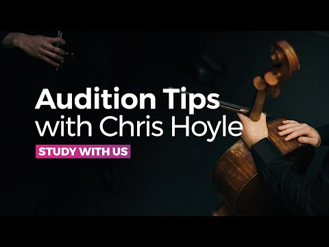 6 Tips for a Fantastic Conservatoire Audition - with RNCM Head of School of Strings, Chris Hoyle