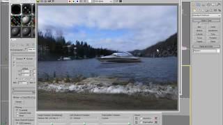 3ds Max - استخدام البيئة خلفية الجلاد