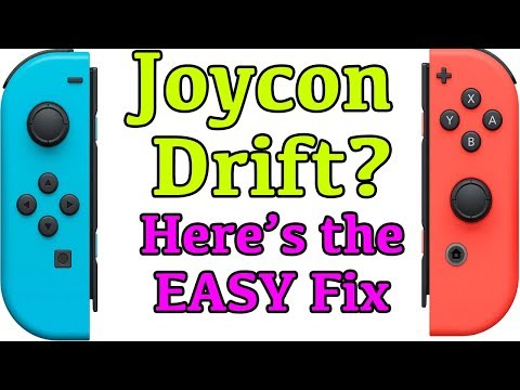 How to Fix JoyCon Drift in Nintendo Switch Controllers - Step by step process.