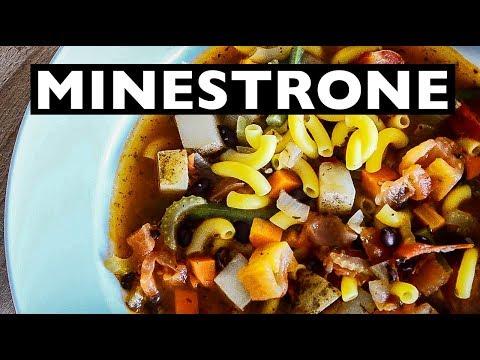 vegan rev easy olive garden inspired minestrone soup how to ep 31 - Olive Garden Minestrone