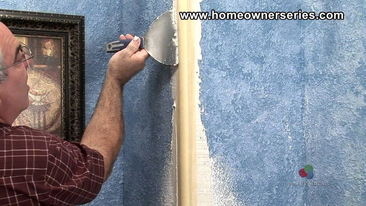 Installing Round Corner Bead - Drywall Repair - Part 1 of 3 - YouTube