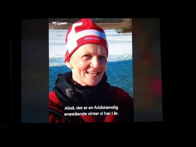 13.2.21 Issvømning bli'r Danmarks nye nationalsport!. Tak til TV 2 Lorry