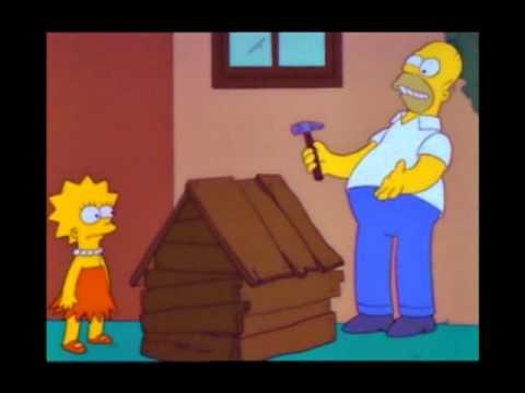 Homer and the swear jar