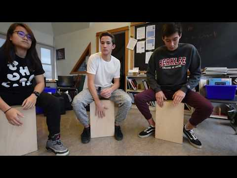 Experiential Learning: Playing the cajón and salsa dancing