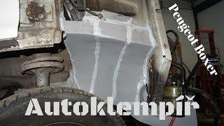 Peugeot Boxer Oprava podběhů (Car body repair)
