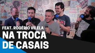 COMENTANDO HISTÓRIAS #46 - STAND-UP NA TROCA DE CASAIS Feat. Rogério Vilela