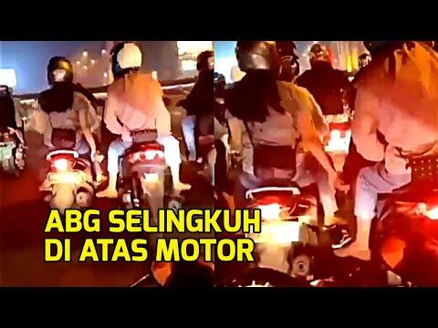 Viral Sejoli ABG Diduga Selingkuh di Atas Motor Tanpa Sepengetahuan Pacar