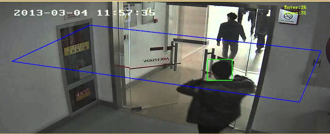 Hikvision - Security One - Conteo de Personas en HD 720P - YouTube