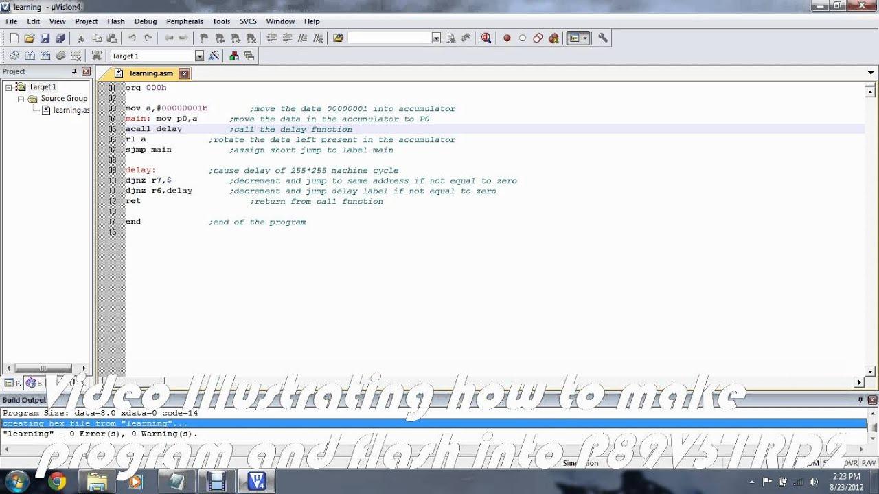 programming and flashing p89v51rd2 youtubeprogramming and flashing p89v51rd2
