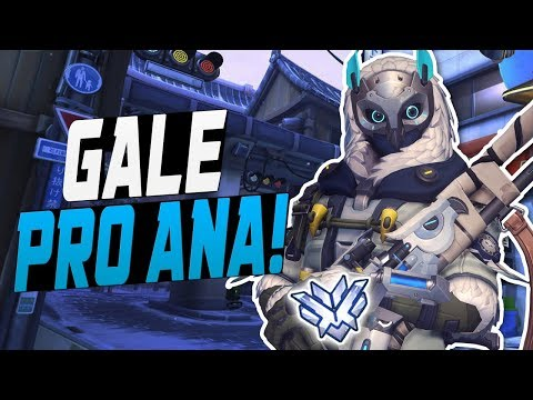 GALE CARRY ANA! 40 ELIMS! [ OVERWATCH SEASON 7 TOP 500 ]