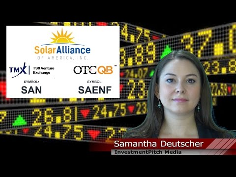 Featured Company - Solar Alliance (TSXV: SAN)