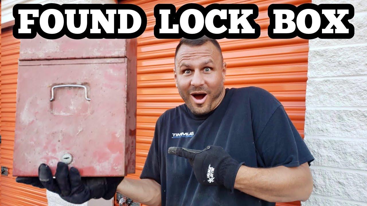 FOUND LOCK BOX I Bought Abandoned Storage Unit Locker Opening Mystery Boxes