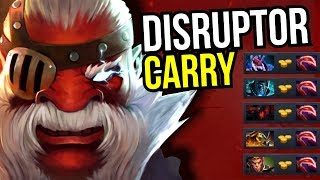 DESOLATOR TEAM - Carry Disruptop NEW META 7.07 Dota 2 | Upside Down 16