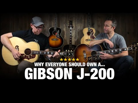 Why Everyone Should Own a Gibson J200 Acoustic Guitar!!