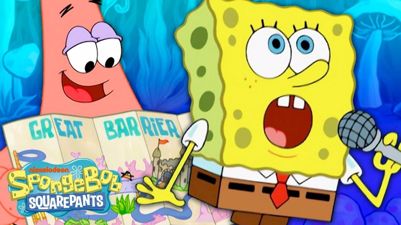 SpongeBob and Patrick Escape a TOURIST TRAP!   SpongeBob