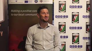 Anthony Limbrick press conference - Glentoran 1 TNS FC 1
