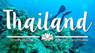 The best places to visit in Thailand | Part 2 - Koh Tao, Koh Phangan & Ayutthaya
