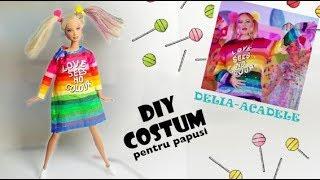 """DIY-Cum sa faci costumul Deliei din videoclipul ,,Acadele"""" (pentru papusi)"""