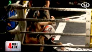 MMA TITIN - DURISIMA PELEA EN FIGHT 4 LIFE 2012 - CPTV EXTREME FIGHTING - Prog104