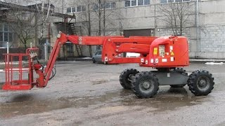 Коленчатый дизельный подъемник Haulotte HA16 PX (Минск, Беларусь)(Компания