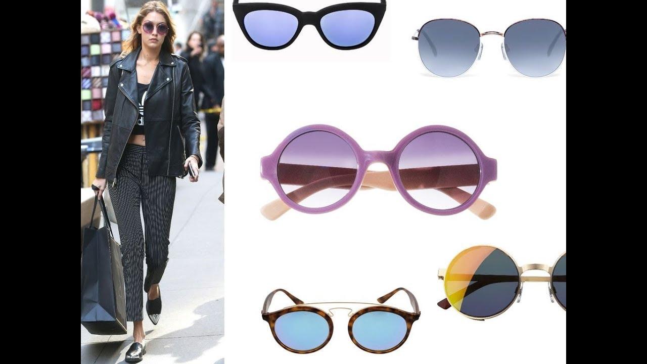 28181caf2a2344 Shopping mode   comme Gigi Hadid je veux des lunettes de soleil fashion