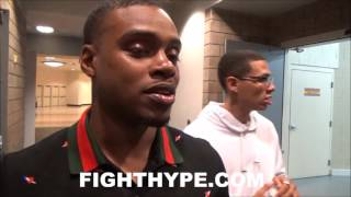 errol spence jr calls out danny garcia while he waits for keith thurman he ain t got a fight