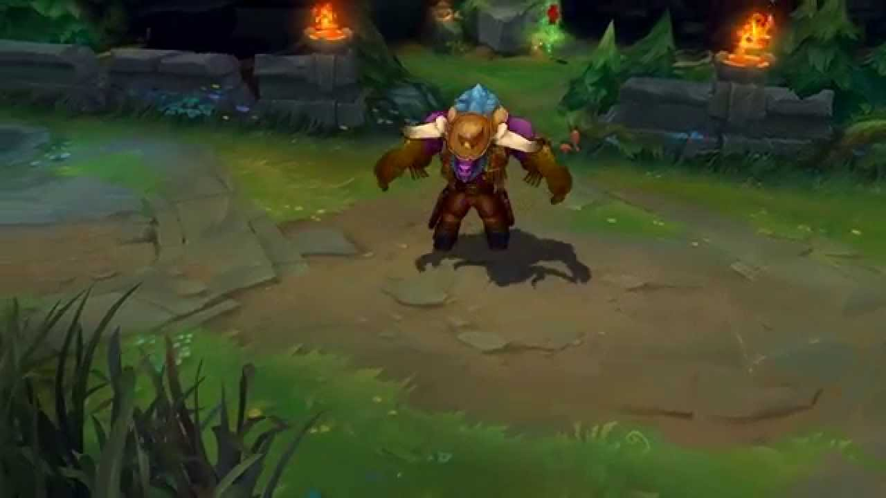 Longhorn Alistar (2015 Update) Skin Spotlight - League of Legends - YouTube