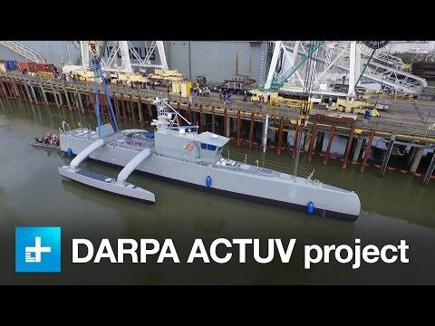 DARPA ACTUV autonomous/unmanned ship project