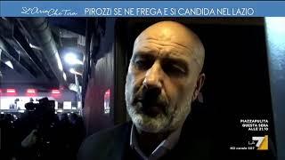 Pirozzi se ne frega e si candida nel Lazio