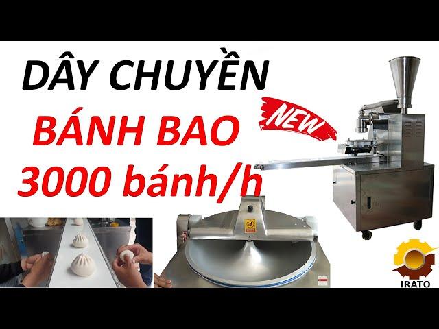 Máy Làm Bánh Bao - Dây Chuyền Làm Bánh Bao Công Suất 3000 Bánh/h | VINAIRATO