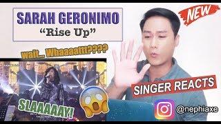 Sarah Geronimo - Rise Up (ASAP Natin 'To Performance) | REACTION