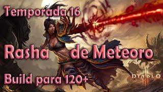 Diablo 3 Temporada 16 Builds de GR 120+ Mago Rasha de Meteoro de fuego